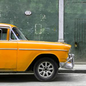 Cuba Fuerte Collection SQ - 615 Street and Orange Car by Philippe Hugonnard