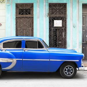 Cuba Fuerte Collection SQ - Bel Air Classic Blue Car by Philippe Hugonnard