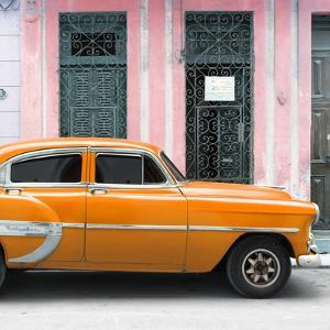 Cuba Fuerte Collection SQ - Bel Air Classic Orange Car by Philippe Hugonnard