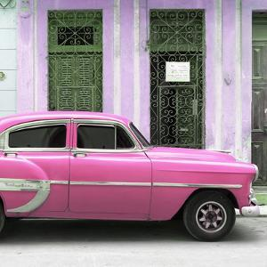 Cuba Fuerte Collection SQ - Bel Air Classic Pink Car by Philippe Hugonnard