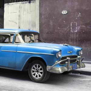 Cuba Fuerte Collection SQ - Blue Chevy by Philippe Hugonnard