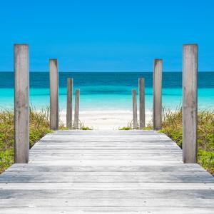 Cuba Fuerte Collection SQ - Boardwalk on the Beach by Philippe Hugonnard
