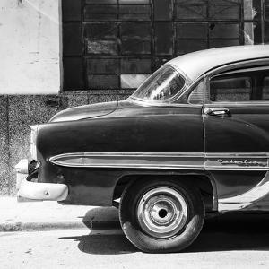 Cuba Fuerte Collection SQ BW - Bel Air Classic Car by Philippe Hugonnard