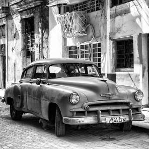 Cuba Fuerte Collection SQ BW - Chevrolet of Havana by Philippe Hugonnard