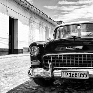 Cuba Fuerte Collection SQ BW - Classic Car 1955 Chevy by Philippe Hugonnard