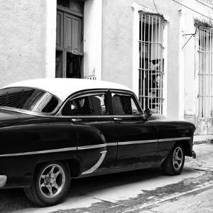 Cuba Fuerte Collection SQ BW - Cuban Taxi II by Philippe Hugonnard
