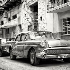 Cuba Fuerte Collection SQ BW - Cuban Taxi to Havana by Philippe Hugonnard