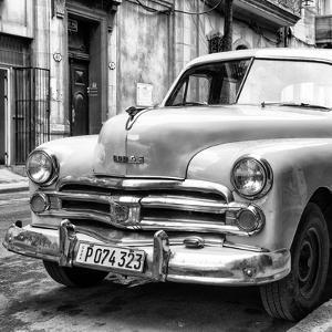 Cuba Fuerte Collection SQ BW - Dodge Classic Car by Philippe Hugonnard