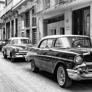 Cuba Fuerte Collection SQ BW - Old Cars Chevrolet by Philippe Hugonnard