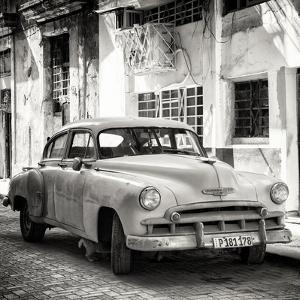 Cuba Fuerte Collection SQ BW - Old Chevrolet of Havana by Philippe Hugonnard
