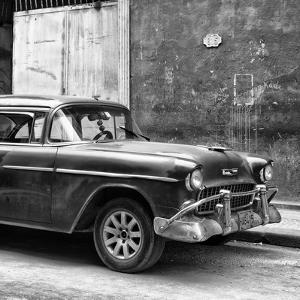 Cuba Fuerte Collection SQ BW - Old Chevy II by Philippe Hugonnard