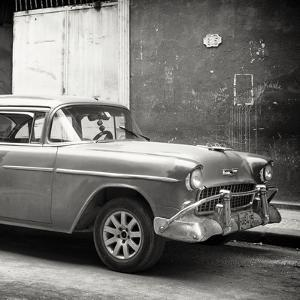 Cuba Fuerte Collection SQ BW - Old Chevy by Philippe Hugonnard