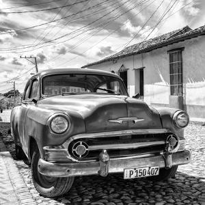 Cuba Fuerte Collection SQ BW - Old Cuban Chevy II by Philippe Hugonnard
