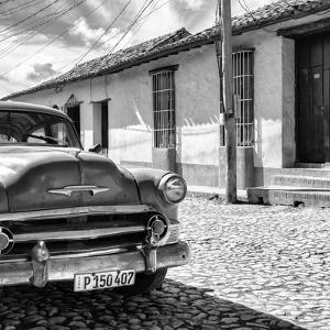 Cuba Fuerte Collection SQ BW - Old Cuban Chevy IV by Philippe Hugonnard