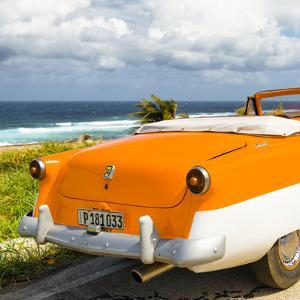 Cuba Fuerte Collection SQ - Classic Orange Car Cabriolet by Philippe Hugonnard