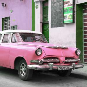 Cuba Fuerte Collection SQ - Classic Pink Car by Philippe Hugonnard