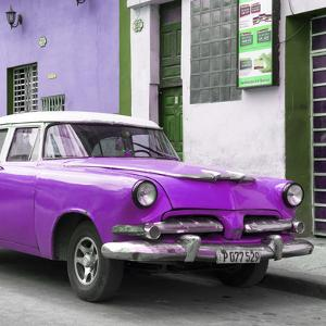 Cuba Fuerte Collection SQ - Classic Purple Car by Philippe Hugonnard