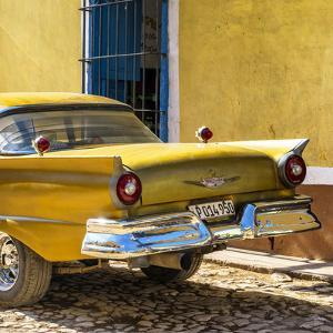 Cuba Fuerte Collection SQ - Close-up of Classic Golden Car by Philippe Hugonnard