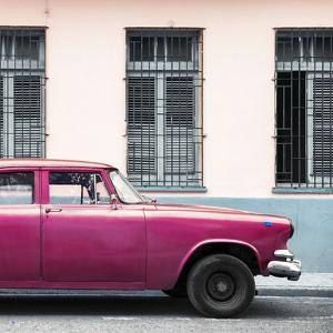 Cuba Fuerte Collection SQ - Close-up of Pink Car by Philippe Hugonnard