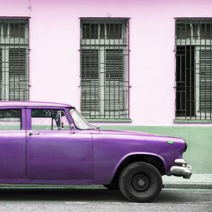 Cuba Fuerte Collection SQ - Close-up of Purple Car by Philippe Hugonnard