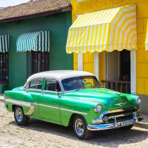 Cuba Fuerte Collection SQ - Cuban Green Taxi by Philippe Hugonnard