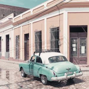 Cuba Fuerte Collection SQ - Cuban Street Scene II by Philippe Hugonnard