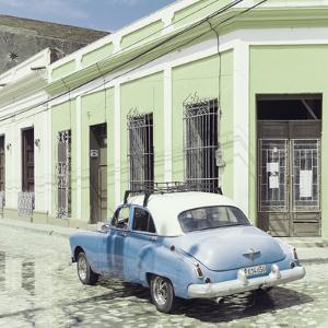 Cuba Fuerte Collection SQ - Cuban Street Scene III by Philippe Hugonnard