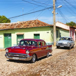 Cuba Fuerte Collection SQ - Cuban Taxis by Philippe Hugonnard