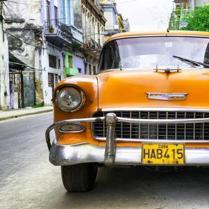 Cuba Fuerte Collection SQ - Detail on Orange Classic Chevrolet by Philippe Hugonnard