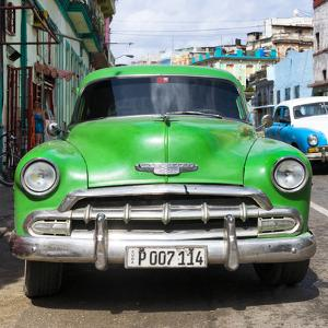Cuba Fuerte Collection SQ - Green Chevy by Philippe Hugonnard