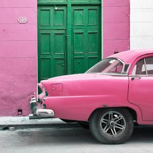 Cuba Fuerte Collection SQ - Havana 109 Street Pink by Philippe Hugonnard