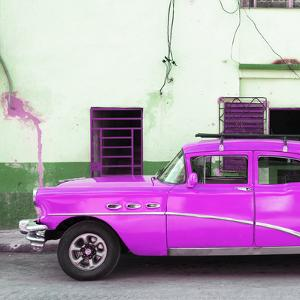 Cuba Fuerte Collection SQ - Havana Classic American Hot Pink Car by Philippe Hugonnard