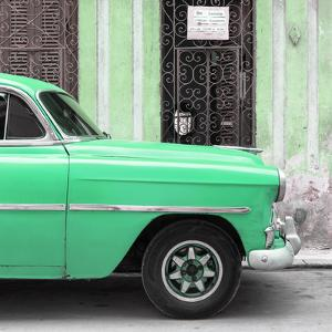 Cuba Fuerte Collection SQ - Havana Green Car by Philippe Hugonnard