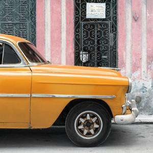 Cuba Fuerte Collection SQ - Havana Orange Car by Philippe Hugonnard