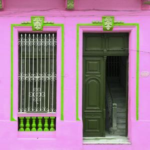 Cuba Fuerte Collection SQ - Havana Pink Façade by Philippe Hugonnard