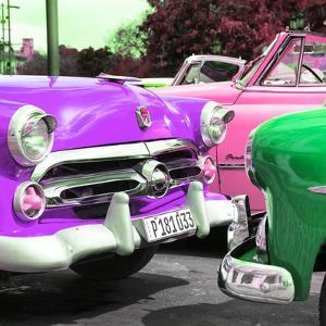 Cuba Fuerte Collection SQ - Havana Vintage Classic Cars by Philippe Hugonnard