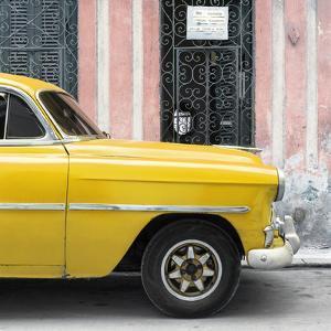 Cuba Fuerte Collection SQ - Havana Yellow Car by Philippe Hugonnard