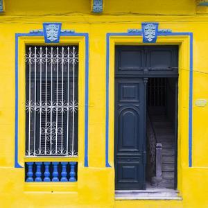 Cuba Fuerte Collection SQ - Havana Yellow Façade by Philippe Hugonnard