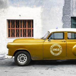 Cuba Fuerte Collection SQ - Honey Pontiac 1953 Original Classic Car by Philippe Hugonnard