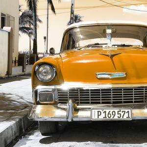 Cuba Fuerte Collection SQ - Orange Chevy by Philippe Hugonnard