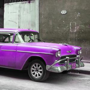 Cuba Fuerte Collection SQ - Purple Chevy by Philippe Hugonnard