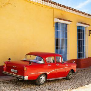 Cuba Fuerte Collection SQ - Retro Car in Trinidad by Philippe Hugonnard