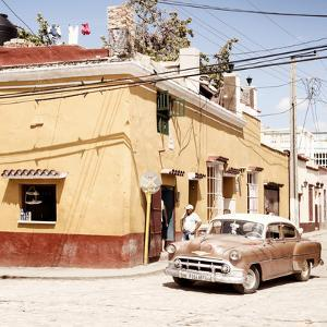 Cuba Fuerte Collection SQ - Trinidad Street Scene IV by Philippe Hugonnard