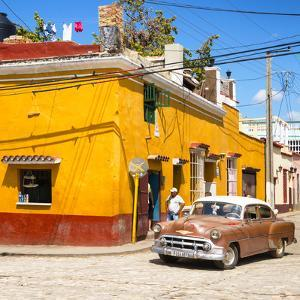 Cuba Fuerte Collection SQ - Trinidad Street Scene V by Philippe Hugonnard
