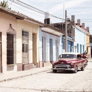 Cuba Fuerte Collection SQ - Urban Scene in Trinidad II by Philippe Hugonnard