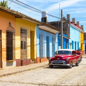 Cuba Fuerte Collection SQ - Urban Scene in Trinidad by Philippe Hugonnard