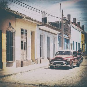 Cuba Fuerte Collection SQ - Urban Vintage Scene in Trinidad by Philippe Hugonnard