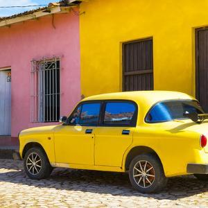 Cuba Fuerte Collection SQ - Yellow Car in Trinidad by Philippe Hugonnard