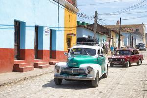 Cuba Fuerte Collection - Taxis in Trinidad by Philippe Hugonnard