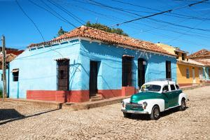 Cuba Fuerte Collection - Trinidad Colorful Street Scene V by Philippe Hugonnard